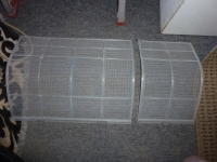 Cleaned Heat Pump Filter